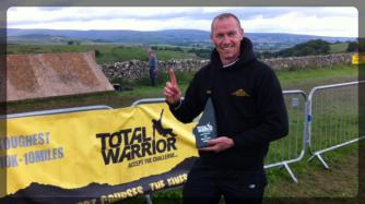 Jason Burgess, Winner of Total Warrior (2015) The Lake District